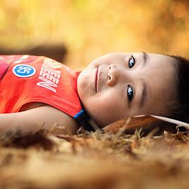Zack by Jam Pong - Babies & Children Children Candids ( child, colorful, color, happy, pentax, children, portrait )