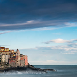 After the storm by Marco Andreini - Landscapes Waterscapes ( tellaro, sunset, 2016, seascape, tramonto, landscape )