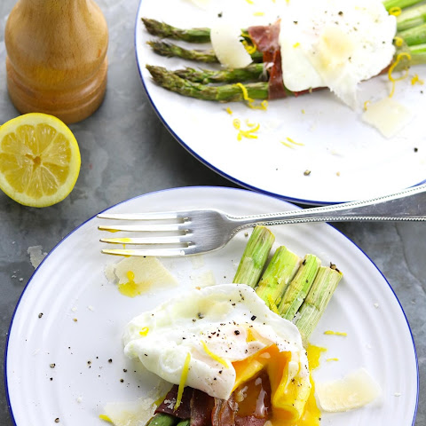 Roast Asparagus, Parma Ham & Poached Egg