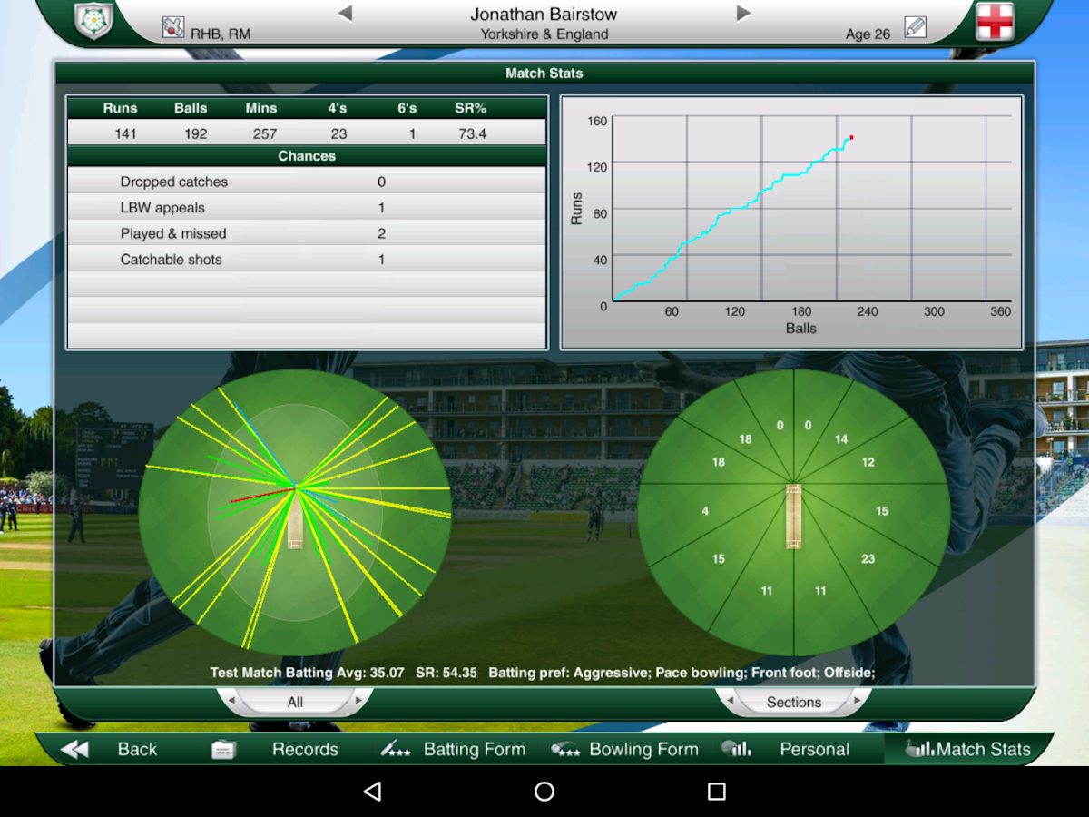 Cricket Captain 2016 Screenshot 13