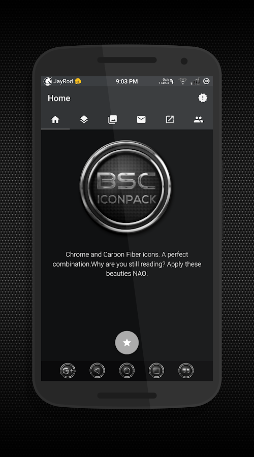 BSC - Iconpack Screenshot 0
