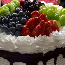 Summer Berry Cake by Lope Piamonte Jr - Food & Drink Candy & Dessert