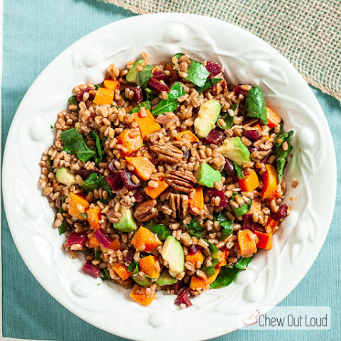 Farro Salad with Butternut and Avocado