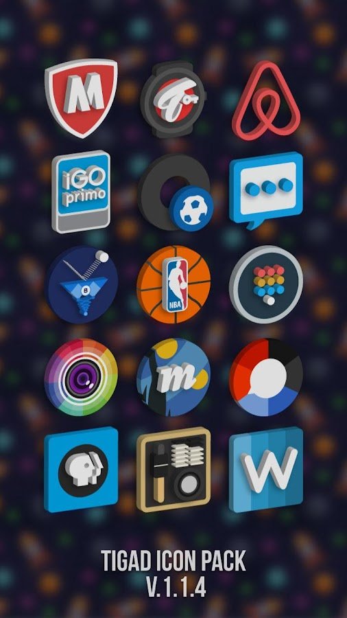 Tigad Pro Icon Pack Screenshot 7