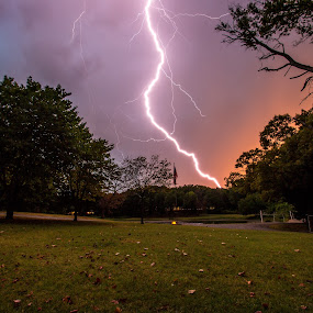 Bolt by John Spain - Landscapes Weather ( lightning, weather )