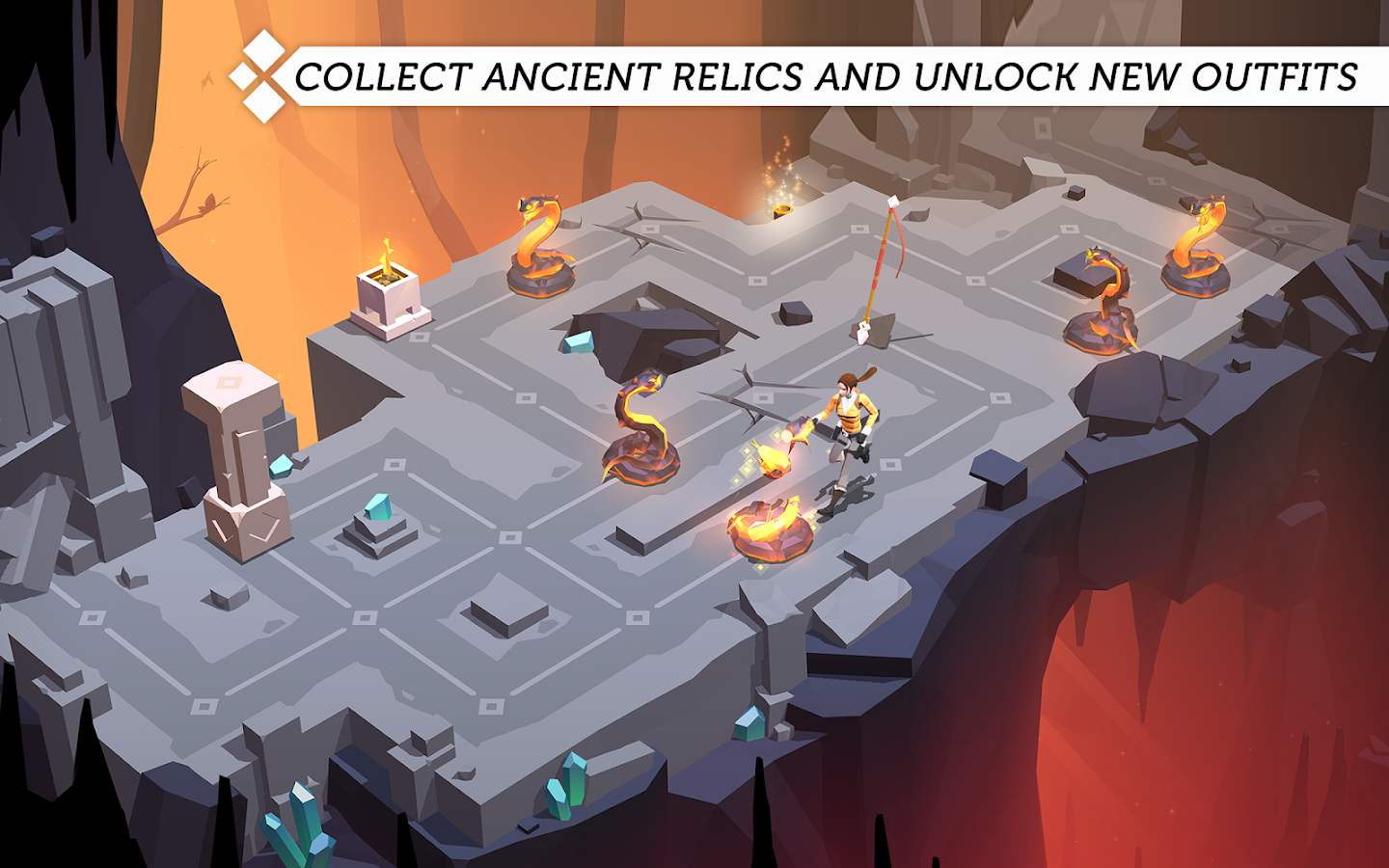 Lara Croft GO Screenshot 9
