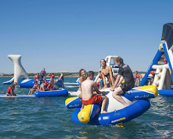 Aqua Park In Rutland | The Blue Ball At Braunston