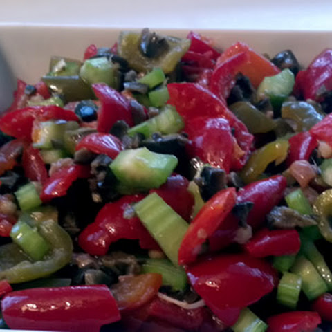 Authentic Italian Hot Pepper Salad