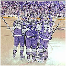 THE L.A. KINGS by Diana Bosna - Sports & Fitness Ice hockey ( hockey. los angeles kings )