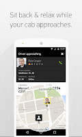 Screenshot of Taxibeat Free taxi app