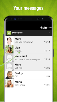 SMS From Android 4.4 APK screenshot thumbnail 3