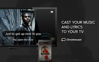 Screenshot of Musixmatch music & lyrics