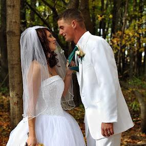 by Colene Draper Anderson - Wedding Bride & Groom