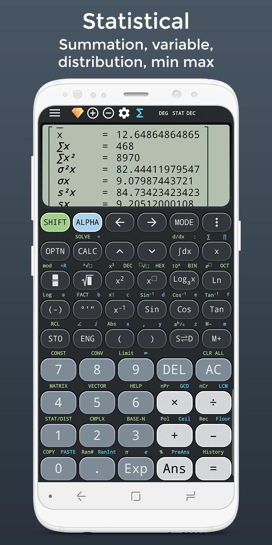 Complex calculator & Solve for x TI-36 TI-84 Plus Screenshot 4