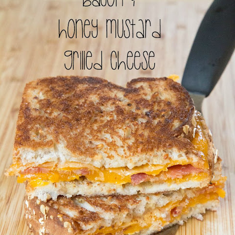 Bacon & Honey Mustard Grilled Cheese