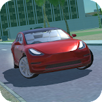 Urban Electric Car Game Icon