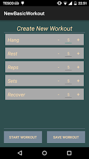 Hang Tight - Hangboard Trainer- screenshot thumbnail