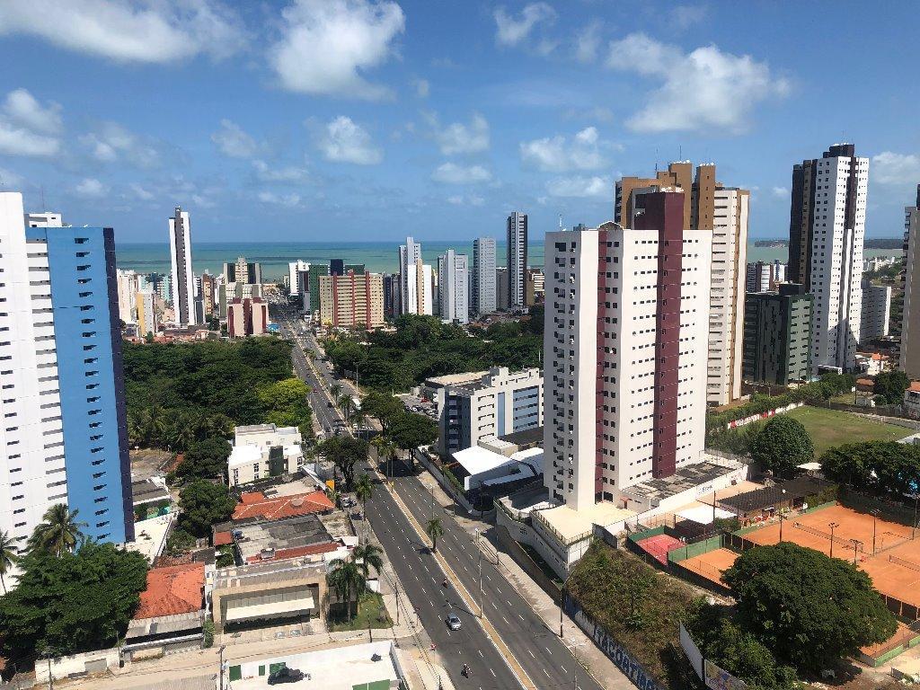 Apartamento com 4 dormitórios à venda, 170 m² por R$ 620.000,00 - Miramar - João Pessoa/PB