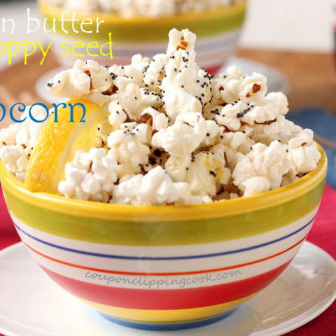 Lemon Butter and Poppy Seed Popcorn