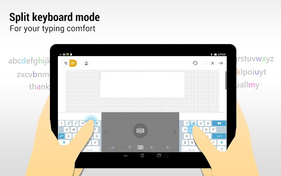 ZenUI Keyboard – Emoji, Theme APK screenshot thumbnail 11