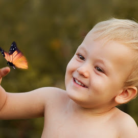 butterfly  by Wendy Berning - Babies & Children Child Portraits