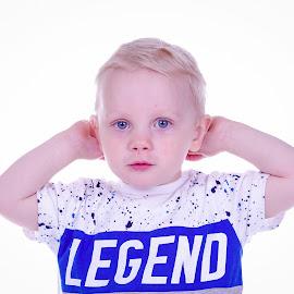 My son by Gunnar Sigurjónsson - Babies & Children Child Portraits