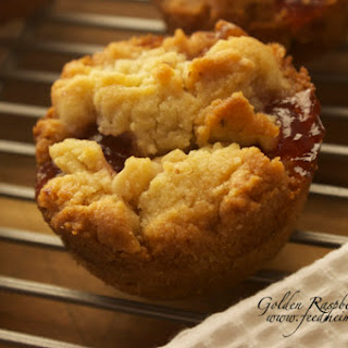 Golden Raspberry Cookies