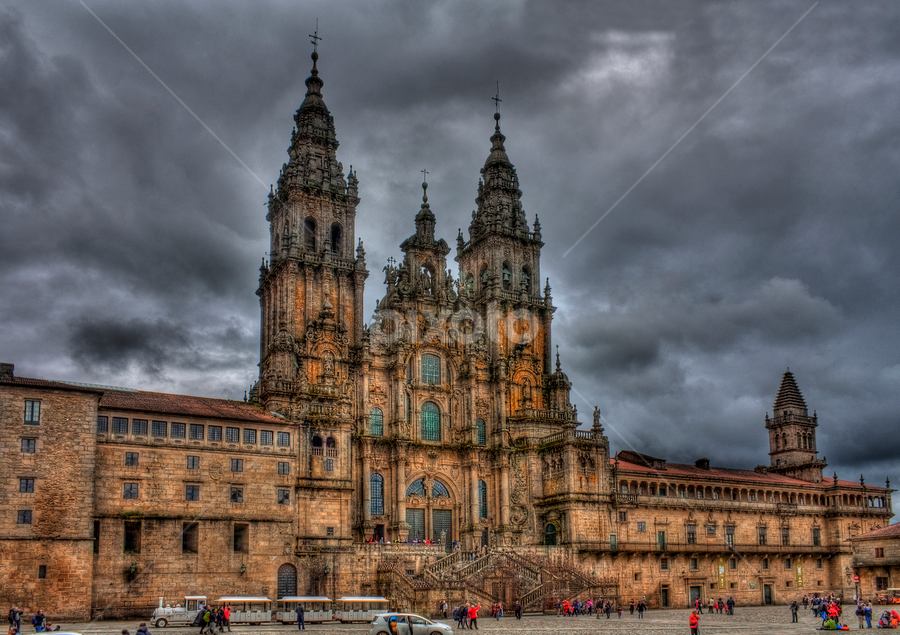 Compostela by Filipe Correia - Buildings & Architecture Statues & Monuments ( hdr )