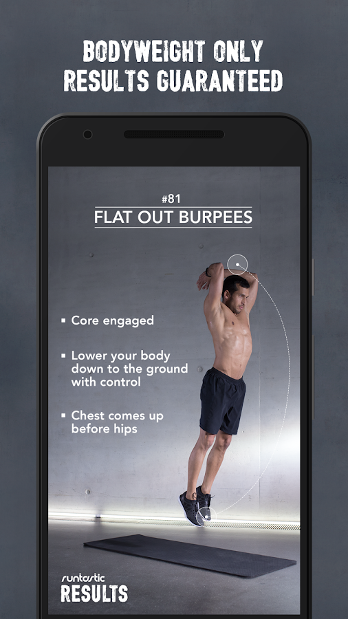 Runtastic Results Workout App Screenshot 3