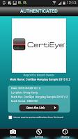 Screenshot of CertiEye