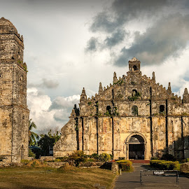 Paoay Church by Joey Rico - Buildings & Architecture Places of Worship ( baroque, ilocos, church, paoay, world heritage site )