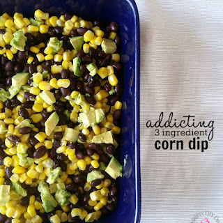 Easy and Addicting 3 Ingredient Corn Dip