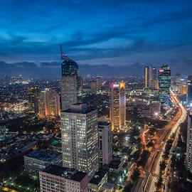 Sudirman by Palus Liem - City,  Street & Park  Skylines