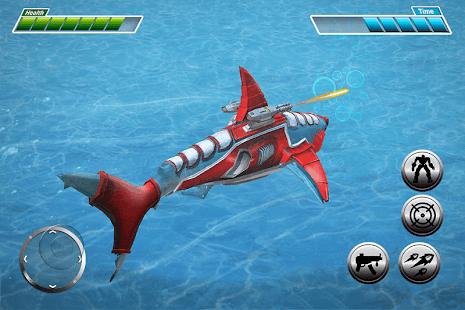 Real Robot Shark Game - Transforming Shark Robot for pc