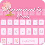 Romantic Pink - Kika Keyboard 204.0 Apk