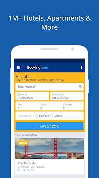 Booking.com Hotel Deals APK screenshot thumbnail 1