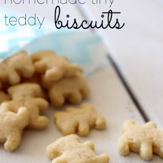 Homemade Tiny Teddy Biscuits