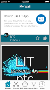 LIT powered by ntc - screenshot