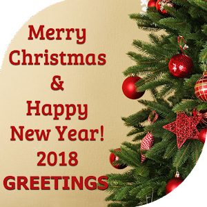 merry christmas and happy new year 2018 For PC