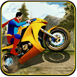 Super hero MOTO offroad bike stunt fever games Icon