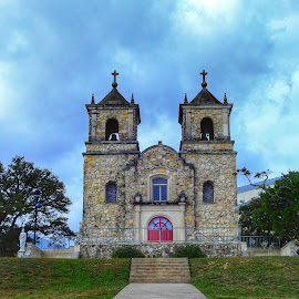 St. Peter's the Apostle in Boerne by Cathy Hood - Buildings & Architecture Places of Worship