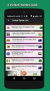 Cricket Match Schedule 2016 - screenshot