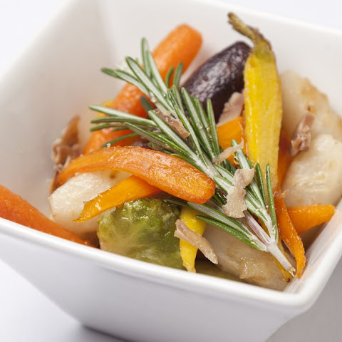 Rosemary And Honey Roasted Vegetables With Chestnuts