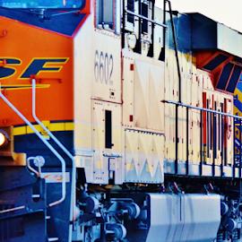 BNSF 6602  4772 by Jim Suter - Transportation Trains