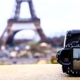 Paris by Aamir DreamPix - Buildings & Architecture Architectural Detail ( canon, building, europe, camera, architectural detail, architecture, canon eos, eiffel tower, paris, frame, photographer, buildings, architectural, france )