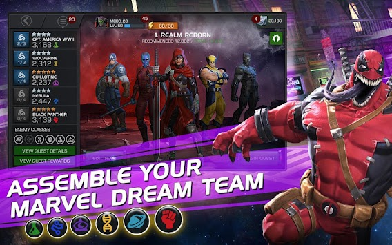 MARVEL Contest Of Champions APK screenshot thumbnail 4