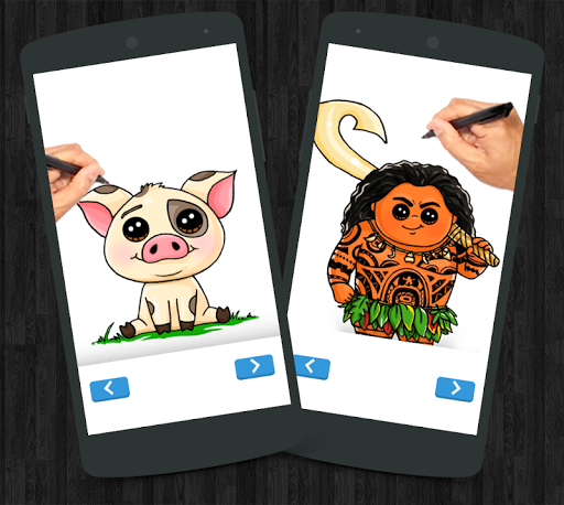 How to Draw Moana For PC