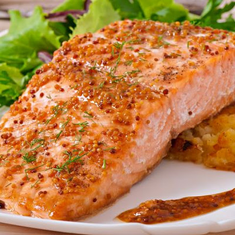 Honey Grilled Salmon Just Like Applebee's