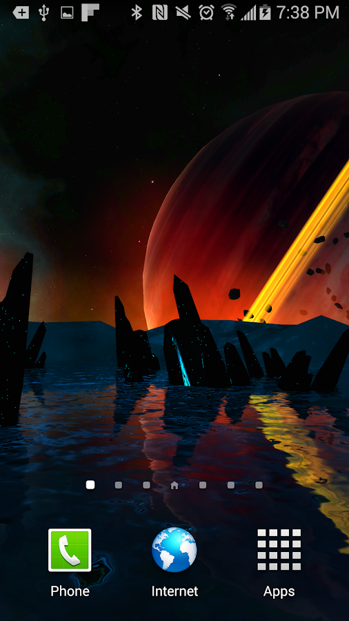 Far Galaxy 3D Live Wallpaper Screenshot 5