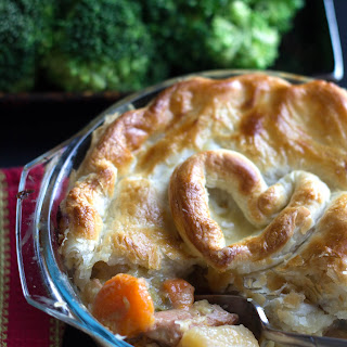 Chicken, Ham & Leek Pot Pie